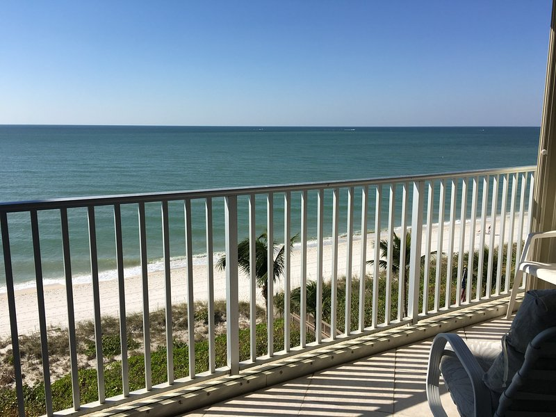 View to Beach and Gulf from balcony