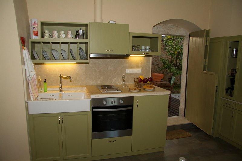 Casa Agapi, Cozinha