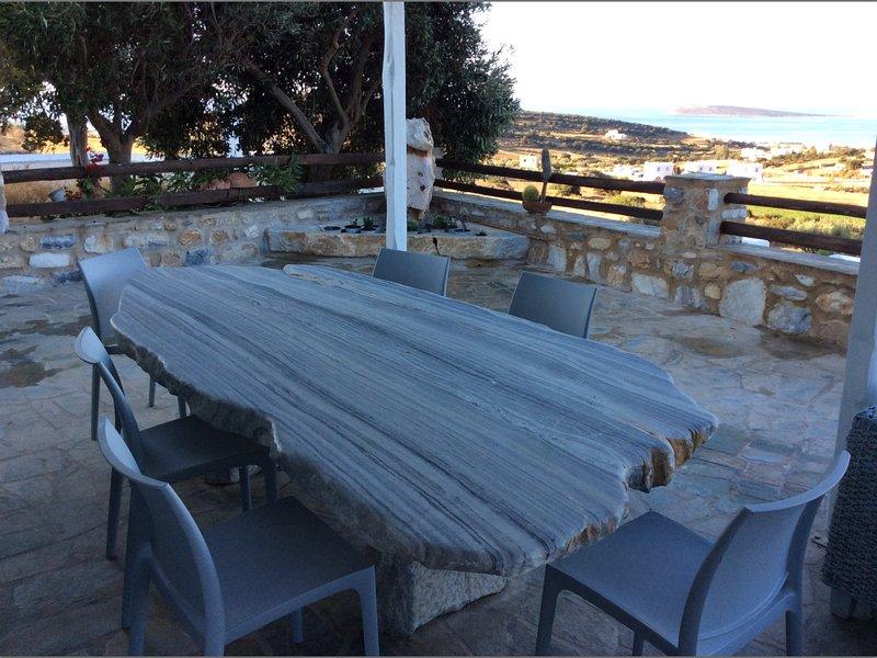Marble table pour 12 personnes
