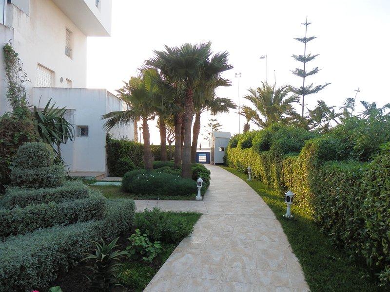 direct access to the beach in Essaouira
