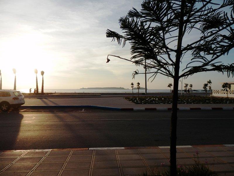 The beautiful sunsets Essaouira