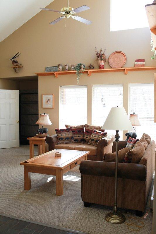 El salón es un lugar ideal para pasar tiempo con sus amigos y familiares