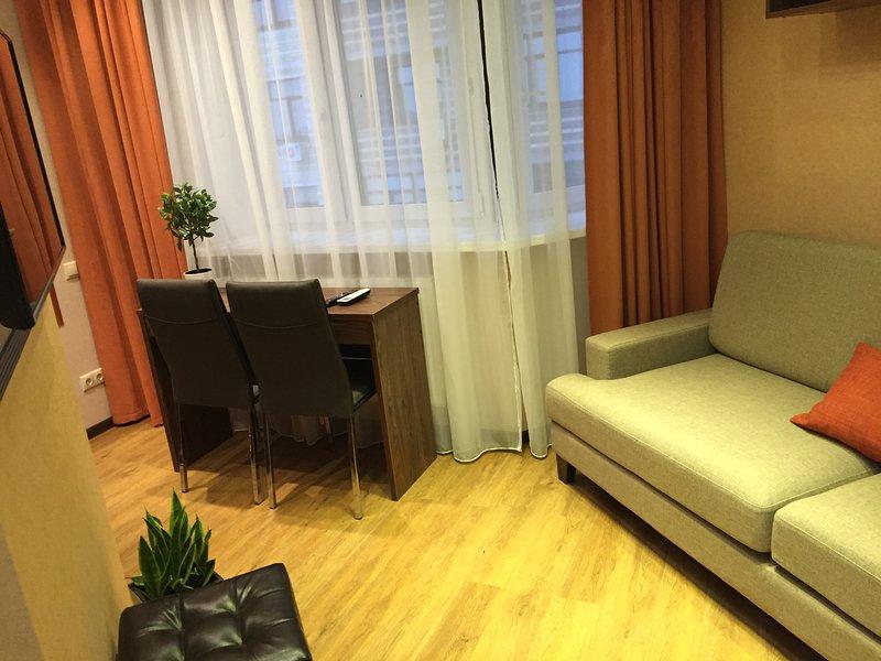 Апартаменты с 1 спальней, alquiler de vacaciones en Tyumen