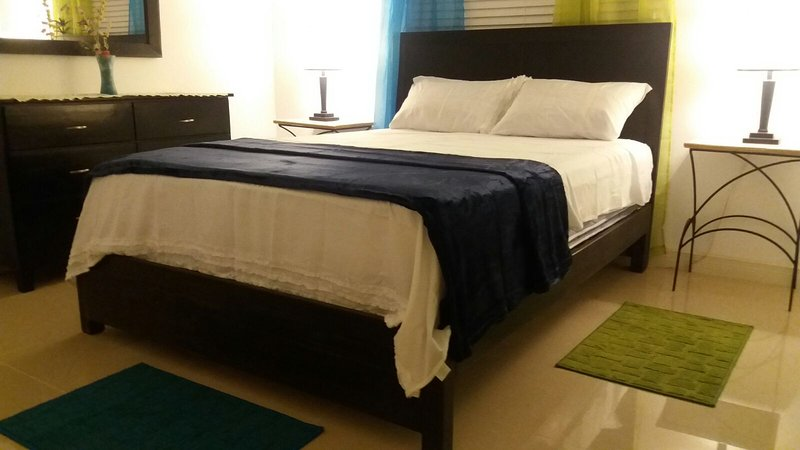 Master Bedroom with Queen Size Bed is fully Air-Conditioned