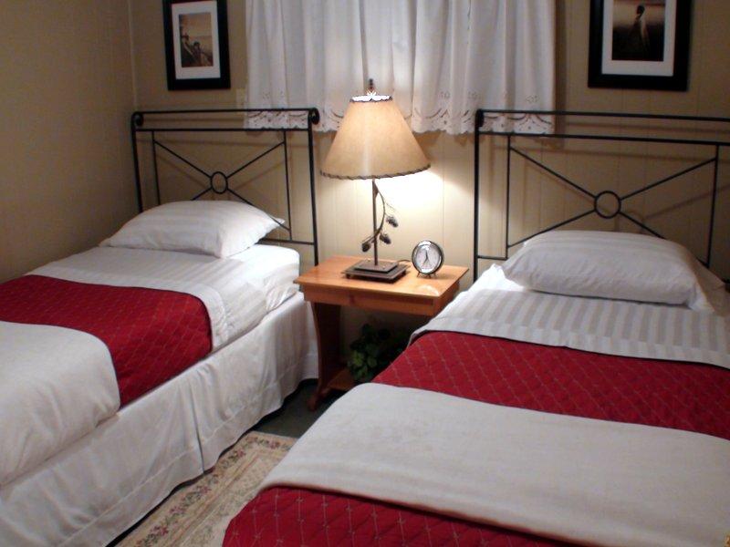 2 ° camera da letto con due letti singoli