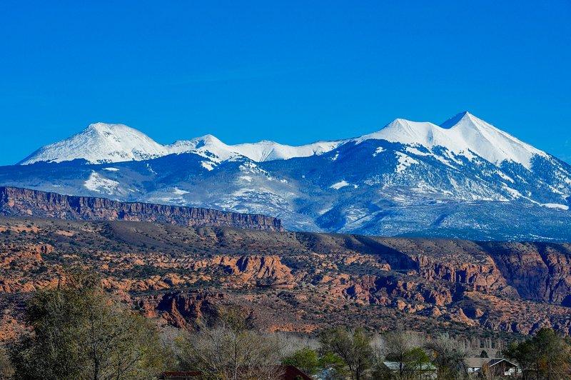 Vista de Montanhas La Sal