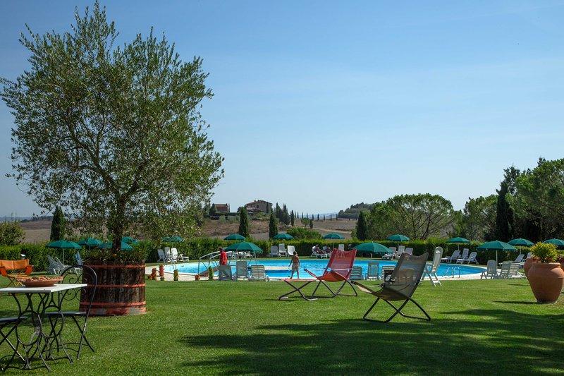 Trilocale Superior con piscina vicino a Siena, casa vacanza a Taverne d'Arbia