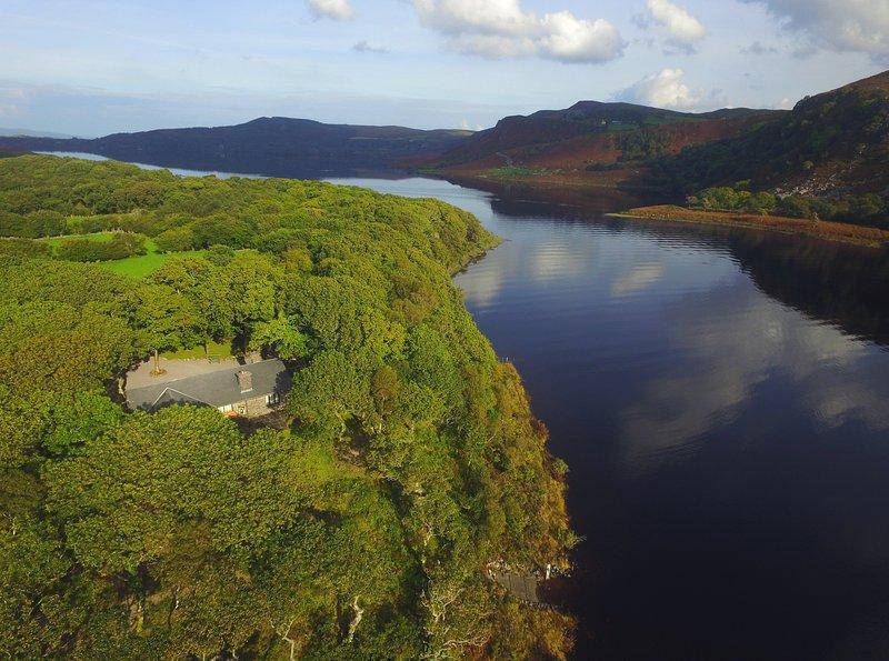 ACORN COTTAGE - PRIVATE ISLAND!, location de vacances à Glenbeigh