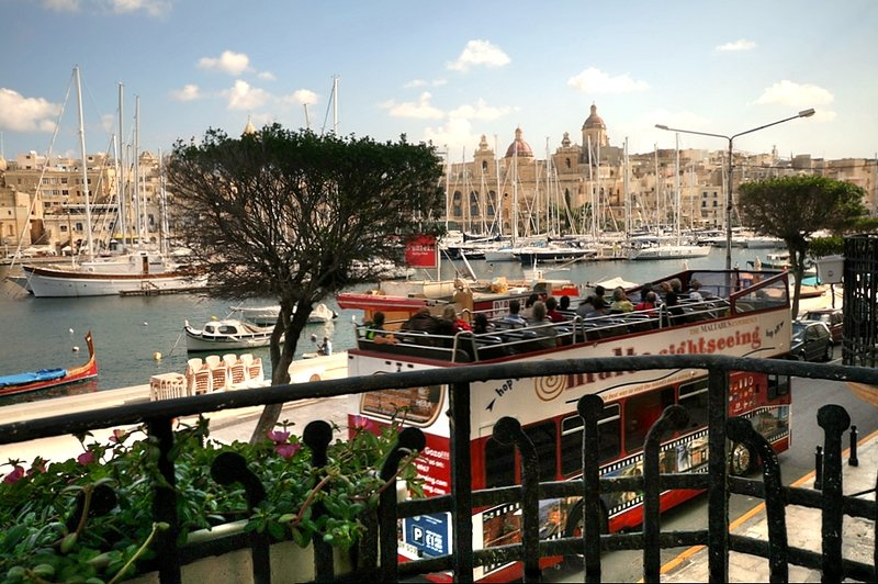 Views from your balcony - take a tour around Malta!