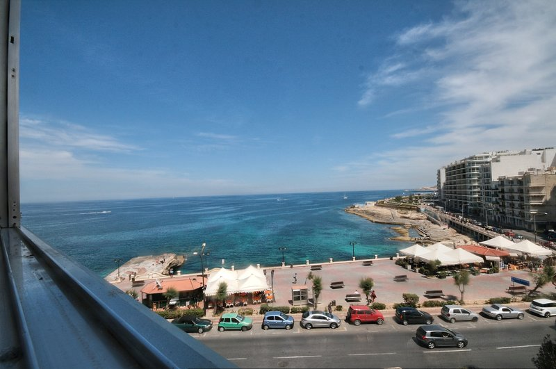 Panoramic open sea view from the Apartment
