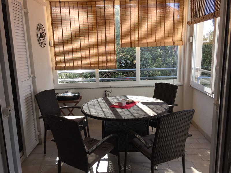 lovely and cosy balcony great for all day long enjoyment