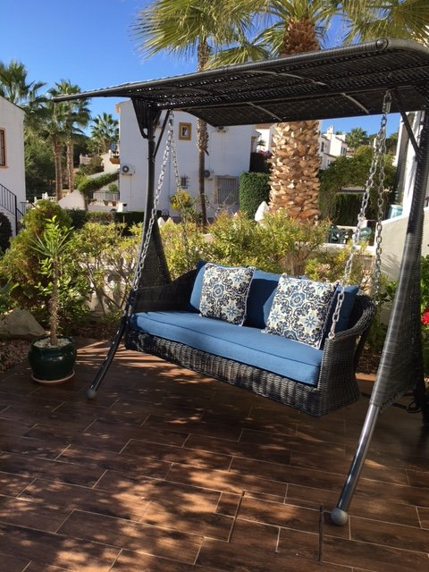 Luxury stylish garden furniture for you to relax and enjoy your stay