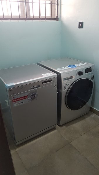 Utility room with Ironing facility
