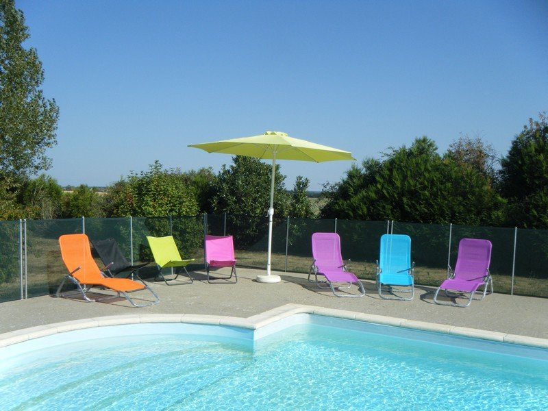 pool exclusively reserved for cottages