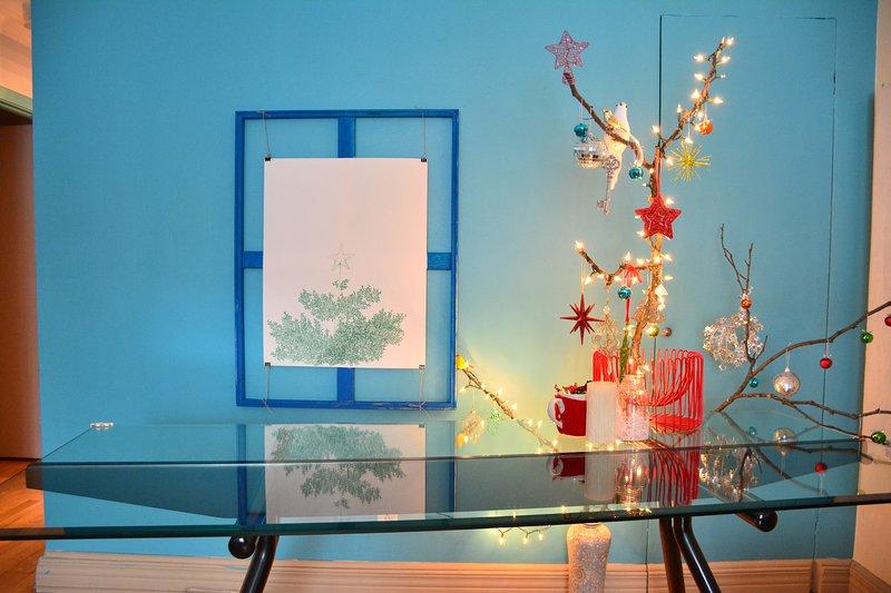 Julen dekorationer
