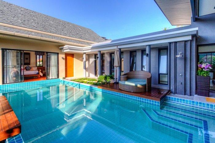 2 Bedrooms Private Luxury Pool Villa Phuket - Ibiscus, casa vacanza a Ko He
