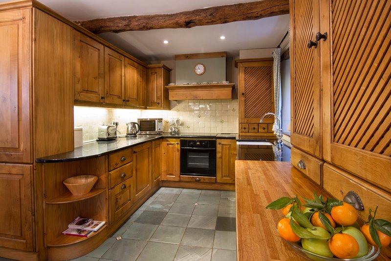 Cozinha bem equipada