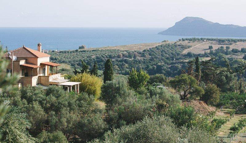 La maison Fabre Ett vackert hus på landet i en lugn plats på Kreta.
