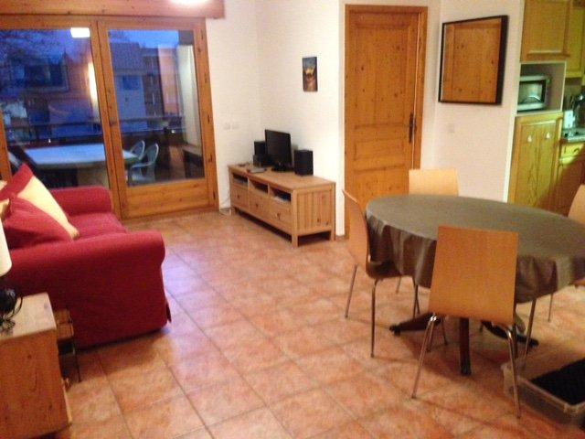 Apartamento Espace Montagne A303 ~ Zona de estar