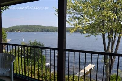 Stunning Lake view, holiday rental in Sainte-Lucie-des-Laurentides