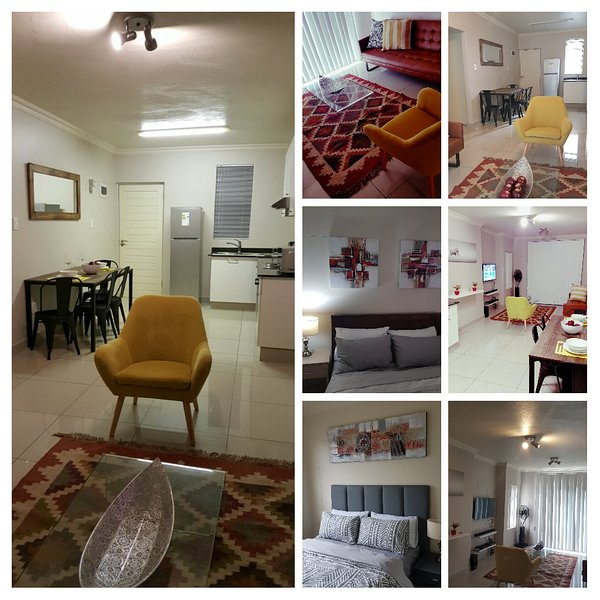 Collage - cocina, salón, dormitorio 1 y 2 dormitorios