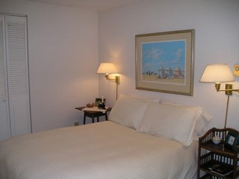 Second bedroom offers a double bed