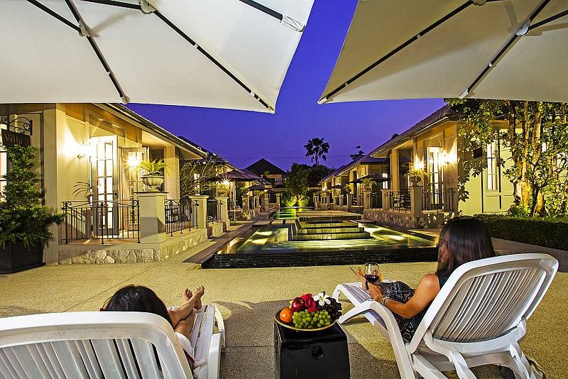 Sala Retreat Villa | 9 Bungalows on Private Resort in Central Pattaya, holiday rental in Pattaya