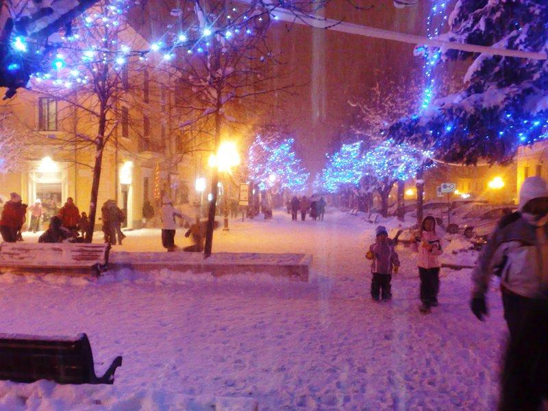 L'hiver à Rocca di Mezzo