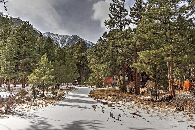 Situated on 1 acre of beautiful land, this home offers peaceful nature views everywhere you turn!