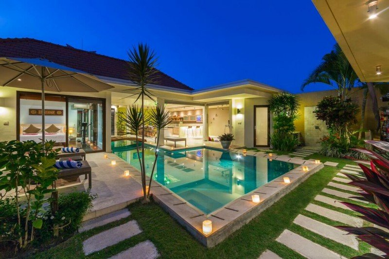A Luxury private villa in Umalas area with 3 bedrooms :)