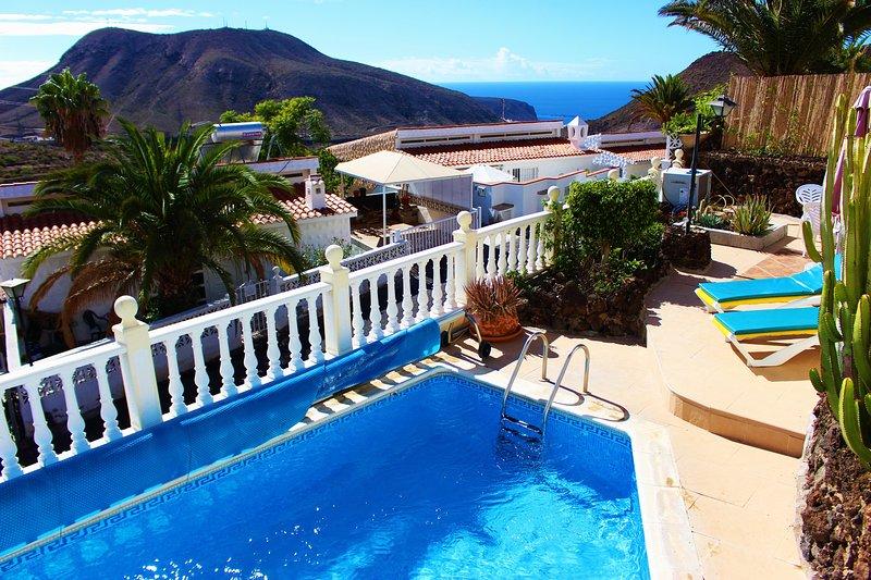 Belle vue depuis la piscine
