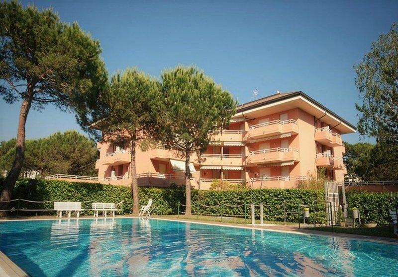 Residence International, alquiler de vacaciones en Lignano Pineta