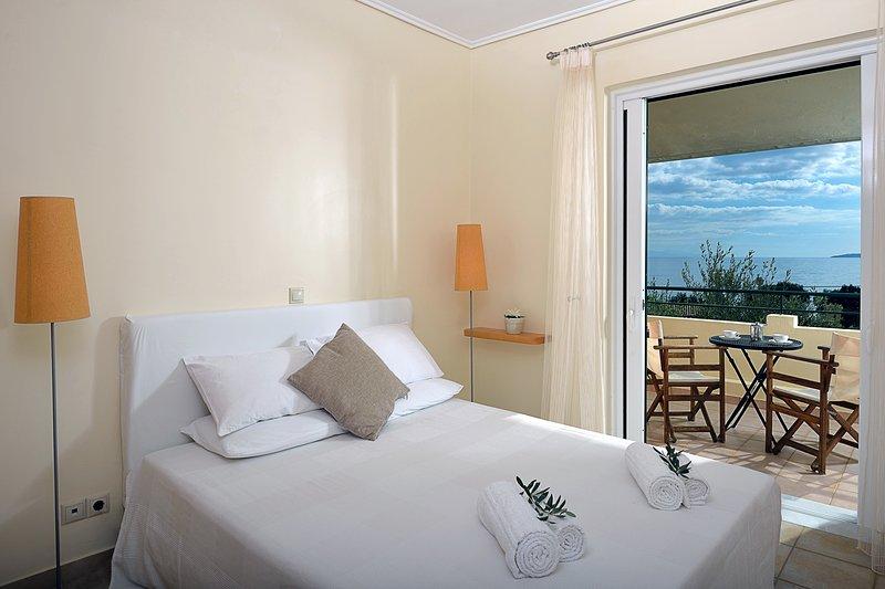 Sea view apartment Aurora, holiday rental in Barbati