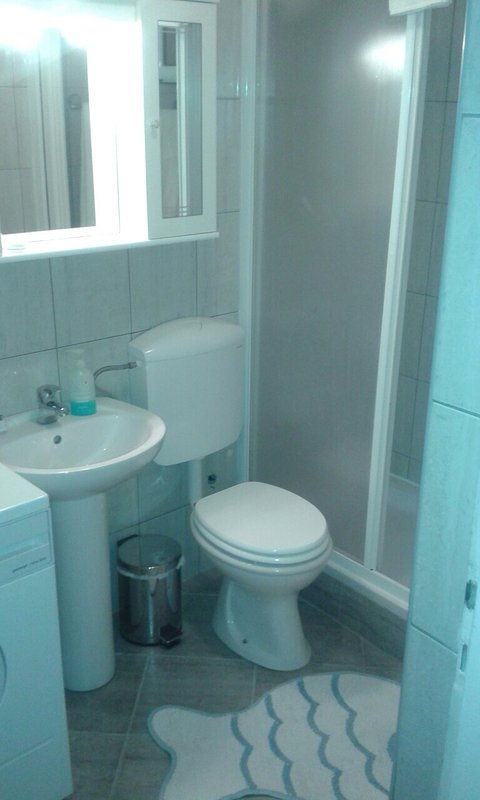 Bathroom 1. (family shower room)