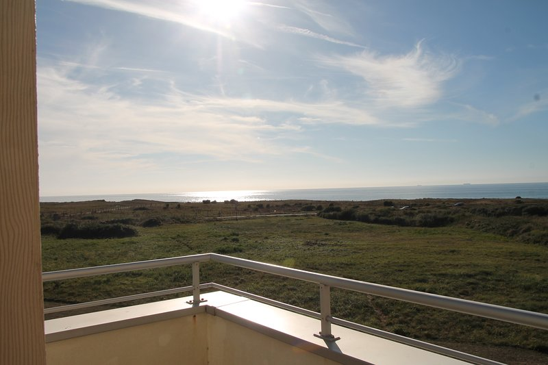'vue exceptionnelle' mer 'Dunes du Golf', holiday rental in Pas-de-Calais