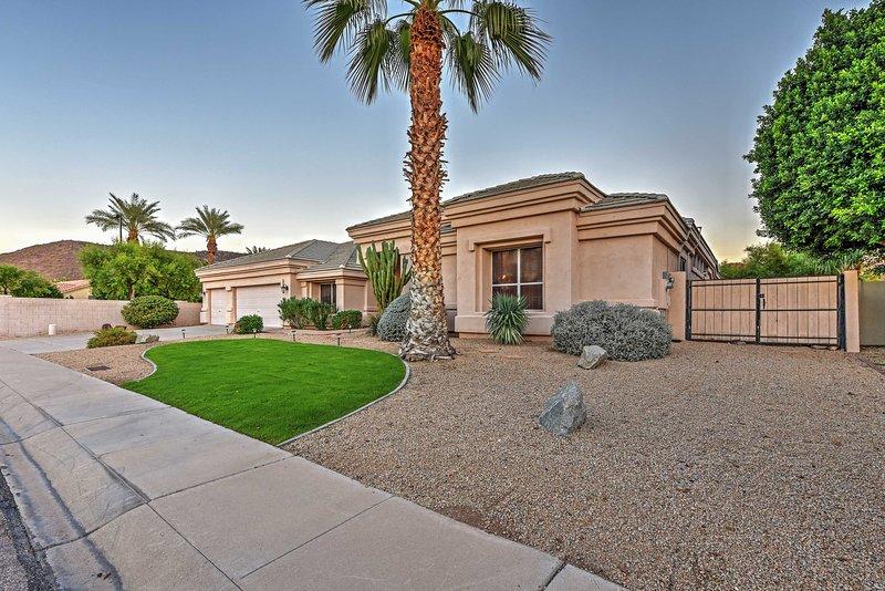 A satisfação é garantida quando você ficar neste excelente casa de aluguer de férias Glendale!