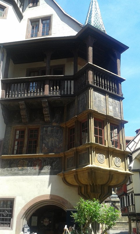 The oldest house in Colmar, 50m ... here you will do everything on foot!