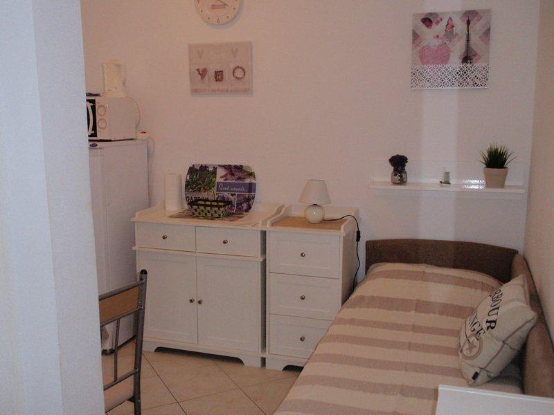Apartments Viola Mandre - 50m from the beach, alquiler de vacaciones en Mandre