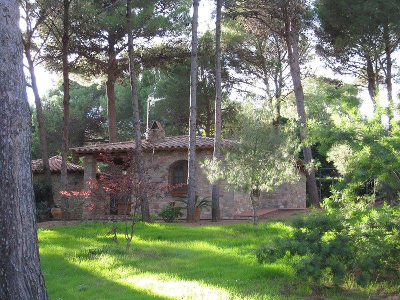 Maison en pierre.