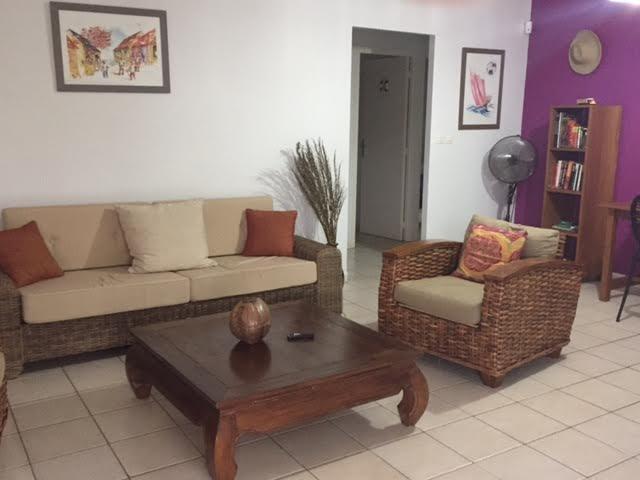 Le salon - Creol Living room  La villa des Tropiques