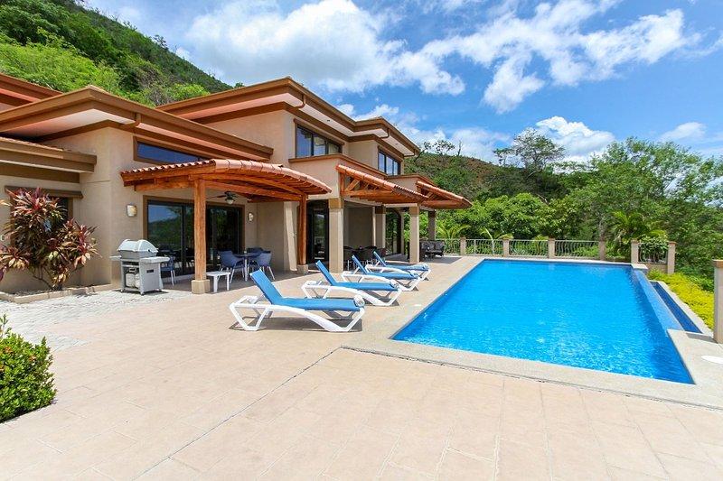 Wonderful Ocean View Home Overlooking Playa Hermosa - Casa Antonelli, vacation rental in Playa Hermosa