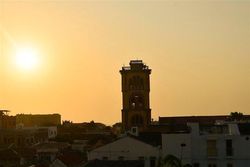 Vue de la tour d'observation