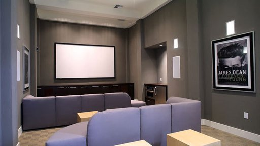 Yep you have a movie room!