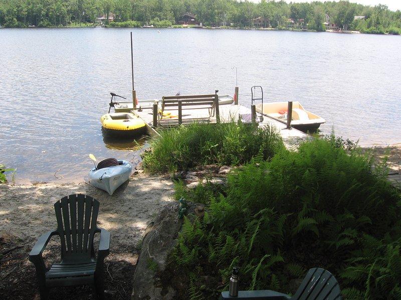 Lakefront Cabin W Boats Beach Dock Sauna Dog