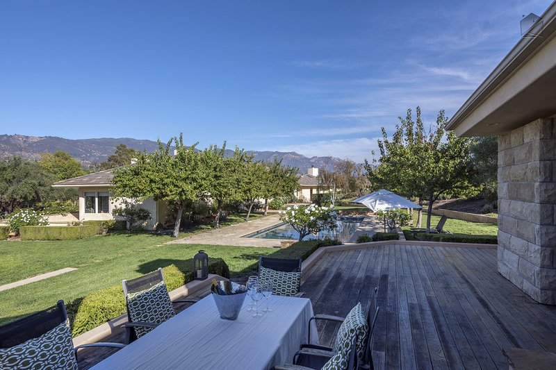 But there's so much more to this expansive property and use of lawn space.