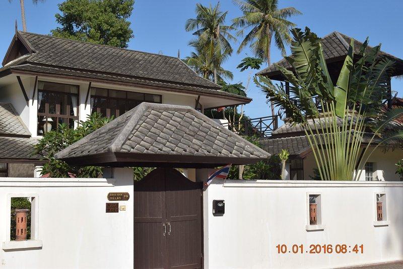 Banyan Villa 1 Entrance