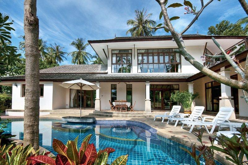 Banyan Villa 1 view from the garden