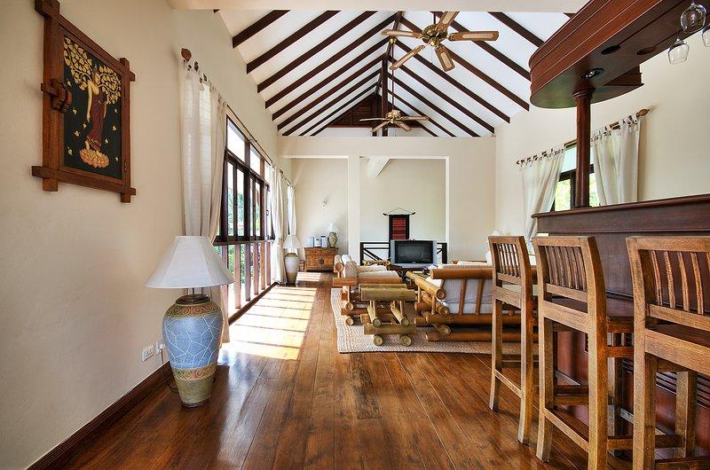 Banyan Villa 1 First Floor Living Room and Bar