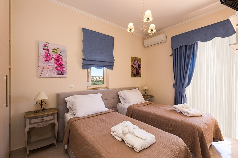 All rooms are sunny and airy!