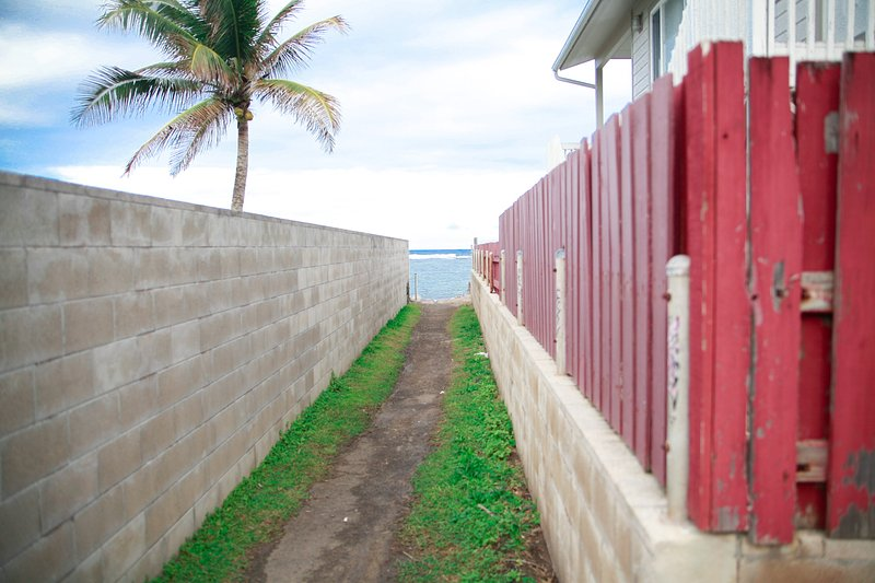 Right in front of the home is a great snorkeling area and all around are hikes.